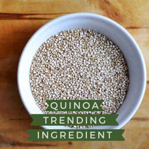 10 aliments que son trending topic, entre ells, la quinoa!
